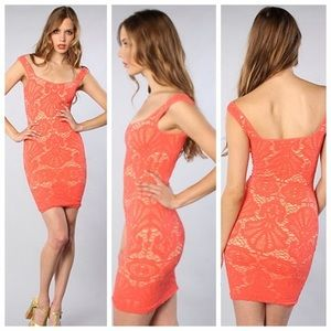 Intimately Free People Coral Medallion Dress